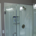 Frameless Neo-Angle Glass Shower Enclosure